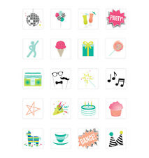 NEW Heidi Swapp Marquee Love Mini Lightbox Inserts - Mini Icons Party