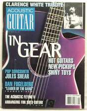 ACOUSTIC GUITAR MAGAZINE IN GEAR PICKUPS CLARENCE WHITE TRIBUTE JULES SHEAR