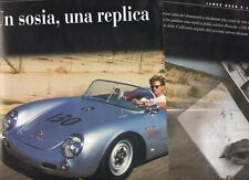 Z7 Clipping Ritaglio 1996 Replica Porsche 550 Rs 1550 James Dean