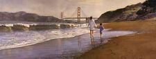 """""""Morning at Baker's Beach"""" Steve Hanks Limited Edition Fine Art Print"""