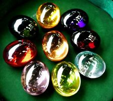 Powerful Nok-Phra-Gow-9Colors Lucky Gems Naga Eye Crystal Real Thai Amulet