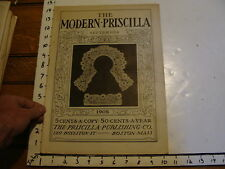 The Modern Priscilla : Boston Mass 1905, Sept. vol XIX # 7: Verandas
