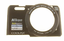 NIKON COOLPIX S7000 FRONT COVER UNIT GENUINE USED