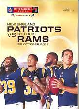 NEW ENGLAND PATRIOTS v ST LOUIS RAMS NFL WEMBLEY STADIUM 2012