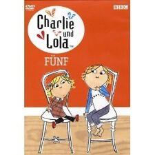 CHARLIE UND LOLA-FÜNF DVD NEU