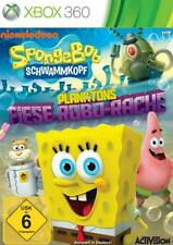 Xbox 360 SPONGEBOB Schwammkopf PLANKTONS FIESE ROBO RACHE Neu