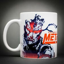 Metal Gear Solid - Mug Tasse Cafe - 325 Ml - Solid Snake Fox Hound Gray Fox.
