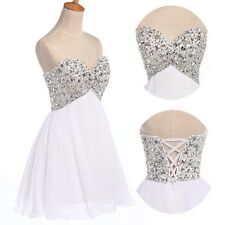 CHEAP! Sequins Homecoming Dress Beaded Short Mini Cocktail Prom Party Gown Dress