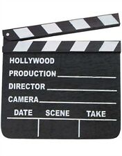 Hollywood Movie Studio Director Clapper Clap Board Sign