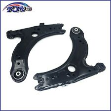 NEW PAIR OF 2 FRONT LOWER CONTROL ARMS FOR VOLKSWAGEN BEETLE GOLF JETTA