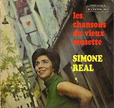 """SIMONE REAL """"LES CHANSONS DU VIEUX MUSETTE"""" 60'S LP RCA VICTOR 441.022"""