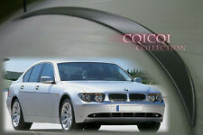 Unpainted BMW 02-05 E65 E66 7-series Sedan  M3 Type Trunk Spoiler◎
