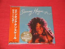 SAMMY HAGAR Nine On A Ten Scale with Bonus Track  JAPAN MINI LP SHM CD