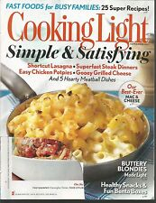 Cooking Light September 2013 Short Cut Lagsagna/Chicken Potpies/Grilled Cheese