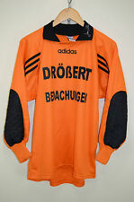 vtg 80s 90s Jens Lehmann ADIDAS GOAL KEEPERS SHIRT SC Germania Reusrath TOP S
