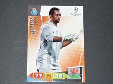 HELTON FC PORTO UEFA PANINI CARD FOOTBALL CHAMPIONS LEAGUE 2011 2012