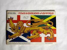 Brooke Bond tea cards Album - Flags & Emblems of the World