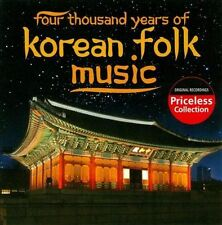 FOUR-THOUSAND YEARS OF KORE...-FOUR-THOUSAND YEARS OF KOREAN FOLK MUSIC / CD NEW