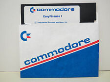 EASY FINANCE I  DISK ONLY COMMODORE 64/128 Tested Runs  NEW FACTORY SURPLUS ..#2