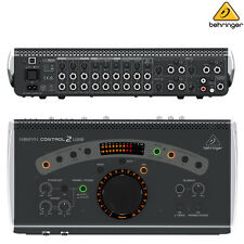 Behringer CONTROL2USB VCA USB Audio Interface Studio Control l Authorized Dealer