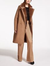 NWT Max Mara Camel Hair Wool Fuoco Coat 40 $3,190