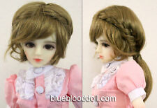 "1/3 bjd 8-9"" doll head copper doll wig Luts Iplehouse dollfie dream W-JD188L"