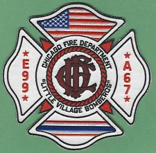 CHICAGO FIRE DEPARTMENT ENGINE 99 AMBULANCE 67 COMPANY PATCH