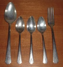 Set of 5 Community Plate Silverware Pieces Aged Over 80 Years Old