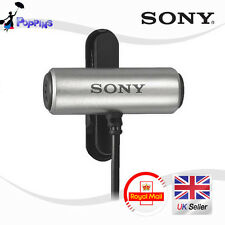 Véritable SONY ECM-CS3 Condensateur Microphone ecm CS3 Affaire Pince cravate NON