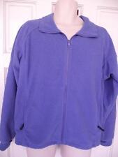 Columbia Jacket Periwinkle Fleece Womens L