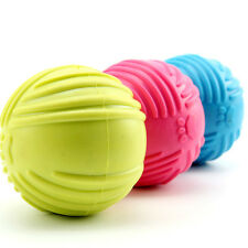 Dog Pet Puppy Fetch Chew Toy Durable Rubber Ball Fits Launcher Training Exercise
