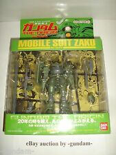 Mobile Suit Gundam The Origin Action Figure 01: MS-06 Zaku from the manga Bandai
