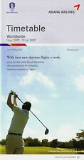 Asiana Airlines Timetable  June 1, 2007 =