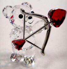 KRIS BEAR -  CUPID CRYSTAL HEART ARROW 2016 SWAROVSKI #5136438