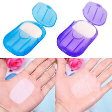Compact Travel Camp Portable Anti-Bacterial Clean Paper Soap Popularity + BOX AP