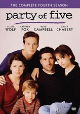 PARTY OF FIVE: THE COMPLETE FOURTH SEASON 4  (5PC) Region Free DVD - Sealed