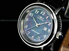 RARE Invicta Womens Executive Swiss Made ETA 2824 Automatic Cabochon MOP Watch