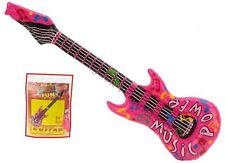 86cm Inflatable Guitar Blow Up Beach Party Fancy Dress Kids Party Bag Filler