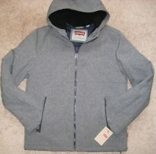 Levi's Sherpa-Lined Bomber Jacket. Men's. S. NWT.$199. Heather Grey