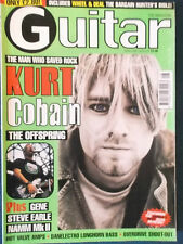 Guitar Magazine - April 1999 - Kurt Cobain Cover - Nirvana
