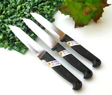 SET3 CHEF KNIFE THAI KITCHEN KNIVES VINTAGE STAINLESS STEEL CUTLERY KIWI