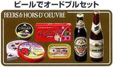 Megahouse Miniature import market BEERS & HORSD' OEUVRE CAVIAR RARE