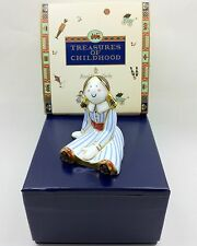Royal Crown Derby RAGDOLL GIRL Treasures of Childhood Paperweight -1st Boxed