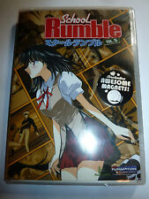 School Rumble Volume 5 DVD with Magnets anime comedy series Tenma Funimation NEW