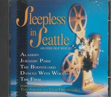 Music CD Sleepless in Seattle and Other Great Movie Hits American Film Orchestra