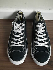 ASOS DAGNALL Canvas Lace Up Trainers Size 10 UK