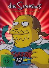 Die Simpsons - Staffel/Season 12 | 4-DVD-Set deutsch NEU