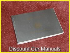 ★★ 2000 CADILLAC SEVILLE SLS STS OWNERS MANUAL L@@K 00!! ★★