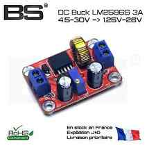 Abaisseur de tension ajustable DC Buck LM2596S 3A 4.5-30 1.25-26V 3A