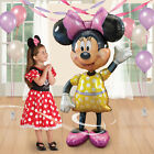 "Disney Minnie Mouse 54"" Airwalker Birthday Party Balloons Foil Mylar"